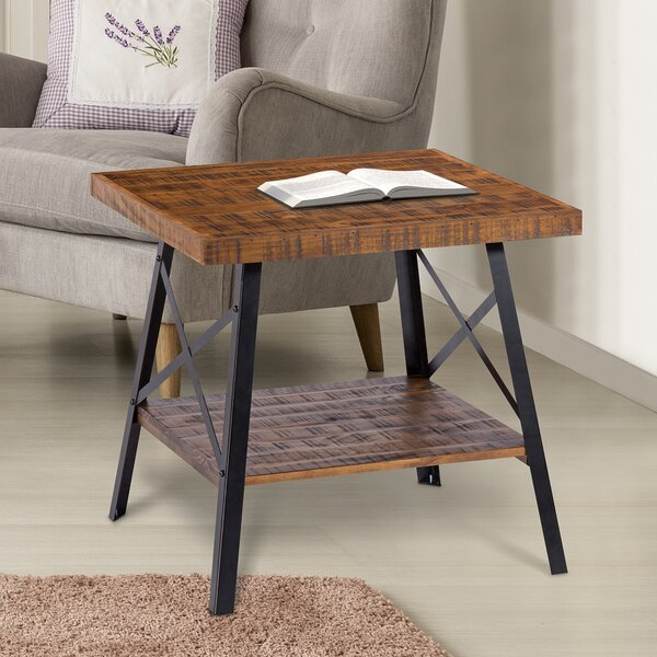 Mundy End Table by Williston Forge