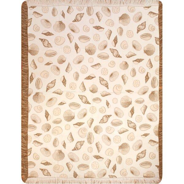 Seashells Throw by Manual Woodworkers & Weavers