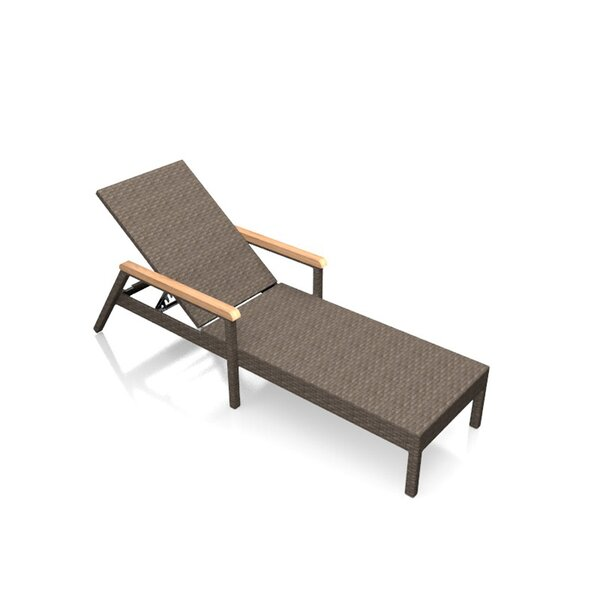 Hodge Reclining Chaise Lounge by Rosecliff Heights