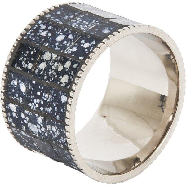 Mosaic Design Napkin Ring (Set of 4) by Ivy Bronx