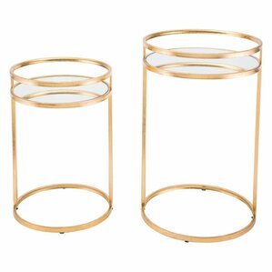 Cadbury 2 Piece Nesting Tables by Mercer41