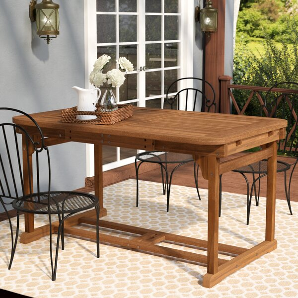 Widmer Extendable Dining Table by Darby Home Co