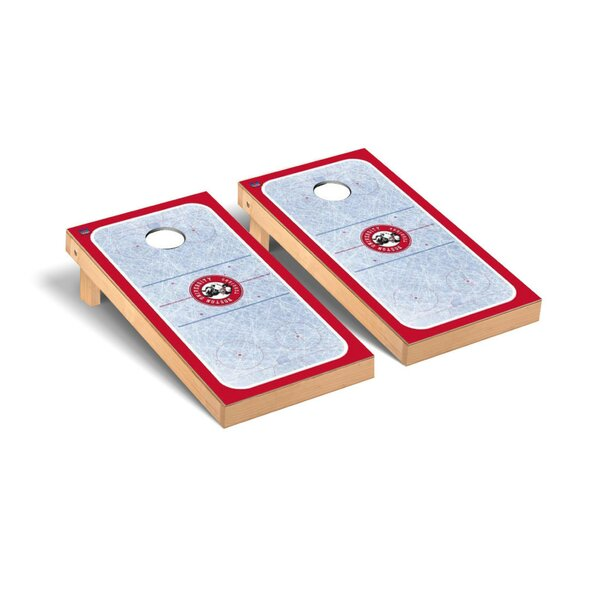 Ice Hockey Version Cornhole Game Set by Victory Tailgate