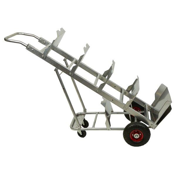 Bottled 5 Water Jug Capacity Hand Truck Bar Cart by Mind Reader