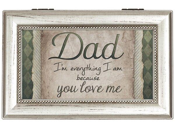 Dad Love Decorative Box by Carson Home Accents