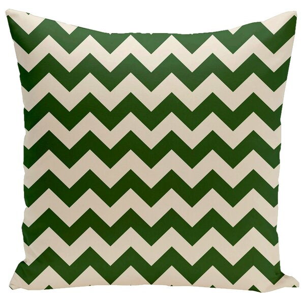 Bunnell Geometric Throw Pillow by Wrought Studio