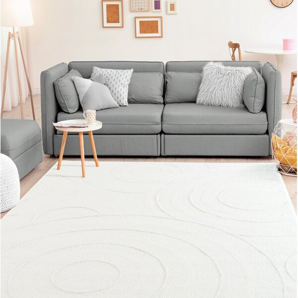 Hilley Accent White Area Rug by Winston Porter