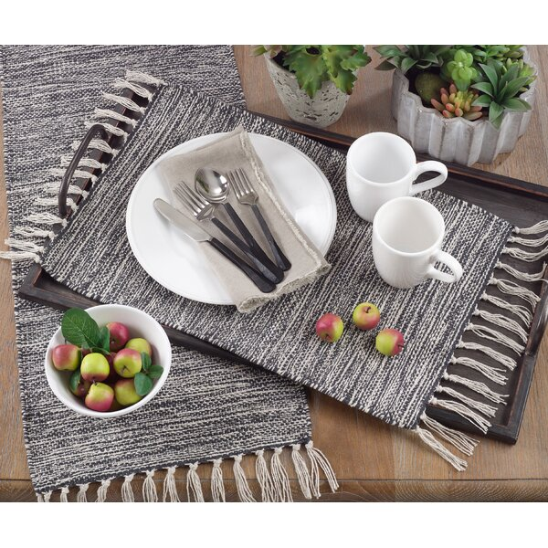 Youngblood Rustic Woven 20 Table Placemat (Set of 4) by Gracie Oaks