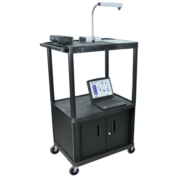 Endura Shelf AV Cart by Offex