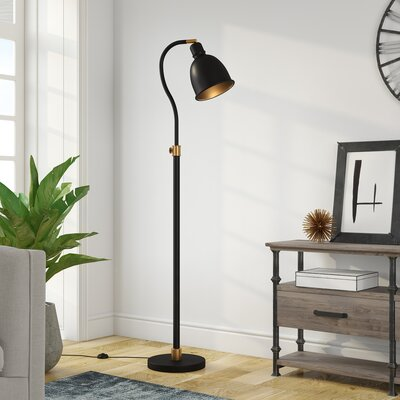 Black Shade Floor Lamps You Ll Love In 2020 Wayfair