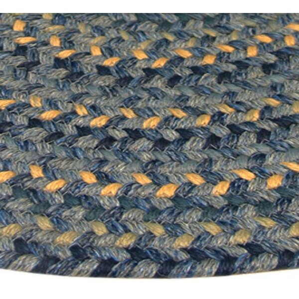 Pioneer Valley II Williamsbury Blue Multi Elongated Octagon Rug by Thorndike Mills
