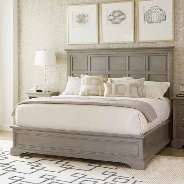 Transitional Panel Bed by Stanley Furniture