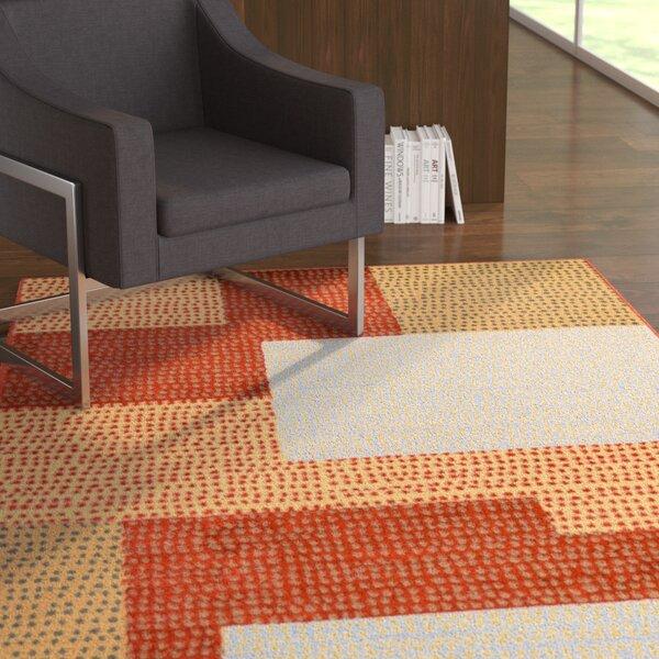 Jaswani Red Area Rug by Ebern Designs