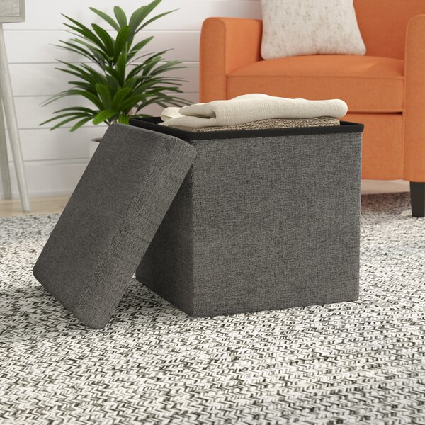 Zosia Storage Ottoman by Zipcode Design