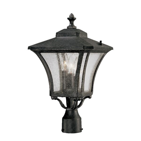 Herald Outdoor 3-Light Lantern Head by Bloomsbury Market