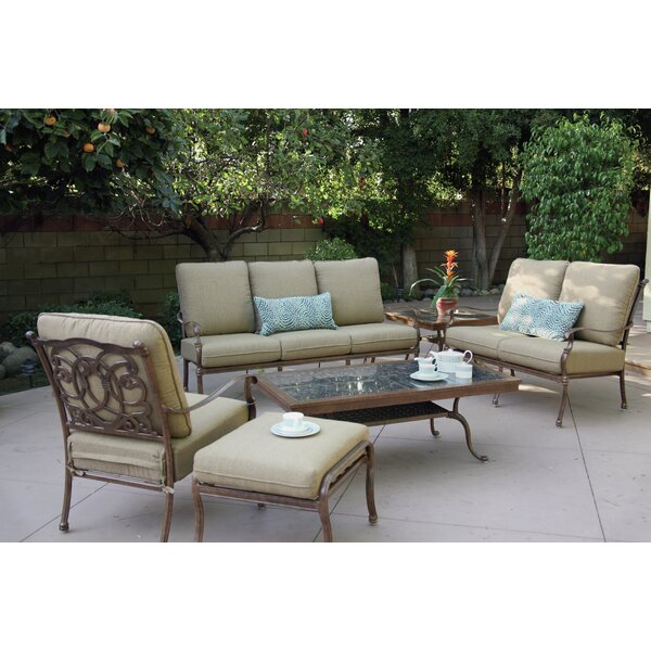 Dolby 6 Piece Sofa Set with Cushions by Astoria Grand