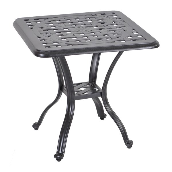 Croydon Aluminum Side Table by Darby Home Co