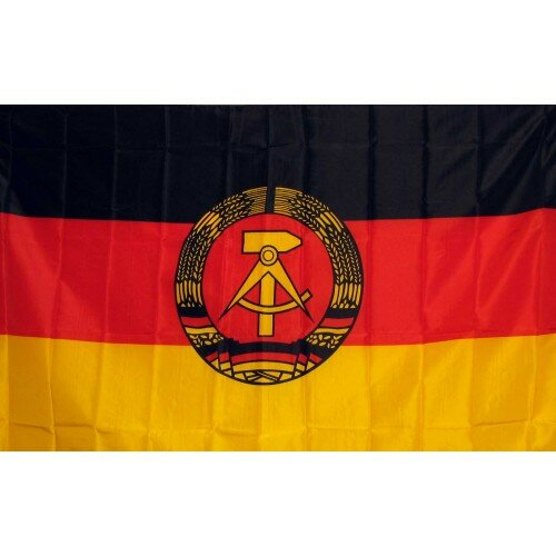 East Germany Traditional Flag by NeoPlex