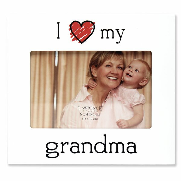 Gastonville I Love My Grandma Picture Frame by Zoomie Kids