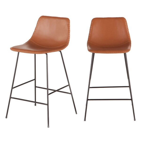 Hudson 18 Bar Stool (Set of 2) by World Interiors