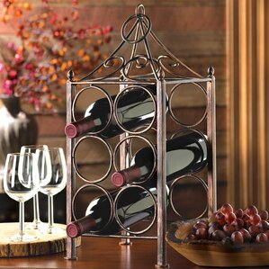 6 Bottle Tabletop Wine Rack by Zingz & Thingz