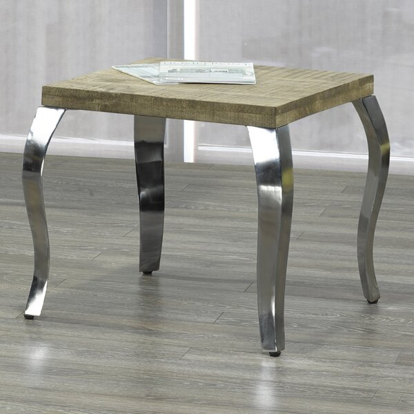 Mooney End Table by Union Rustic