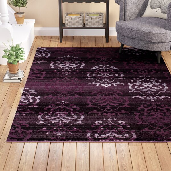 Fitchett Fitchett Plum Area Rug by Andover Mills
