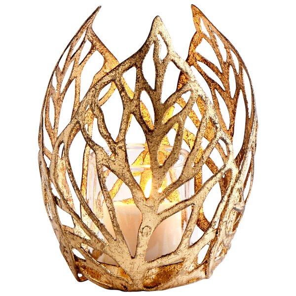 Sunrise Flame Iron Votive by Cyan Design