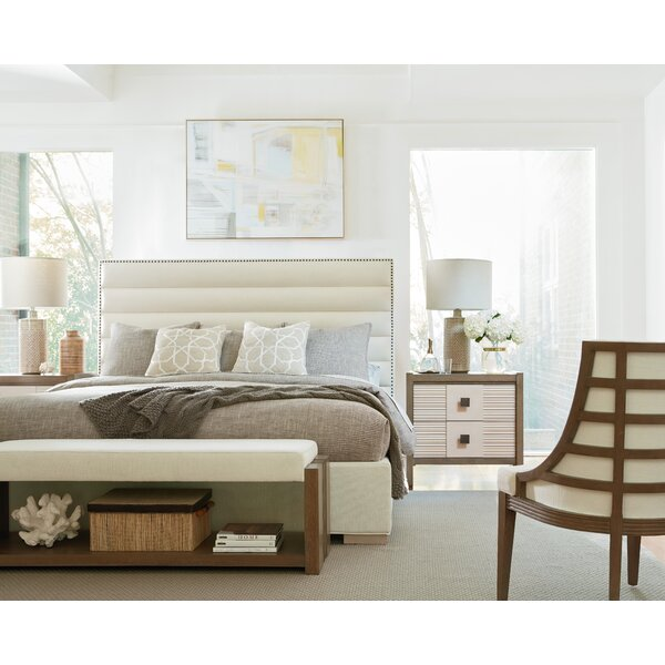 Highpoint Upholstered Standard Bed by World Menagerie