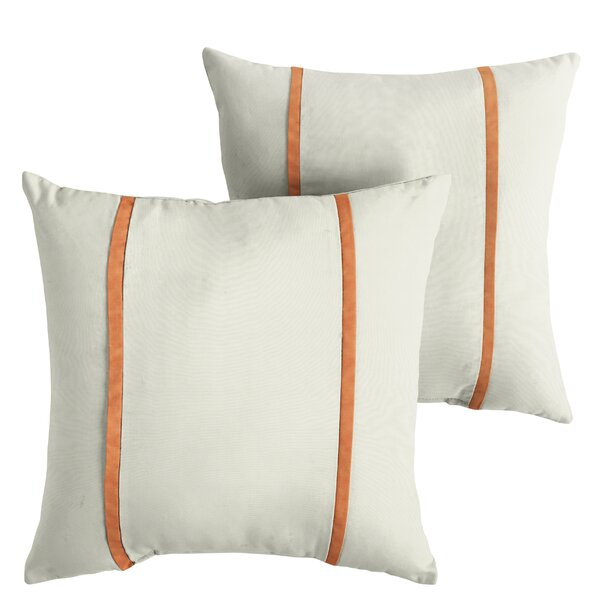 Holdsworth Indoor/Outdoor Sunbrella Throw Pillow (Set of 2) by Alcott Hill