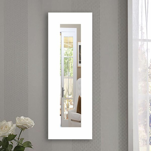 Kittle Classic White Accent Mirror by Zipcode Design