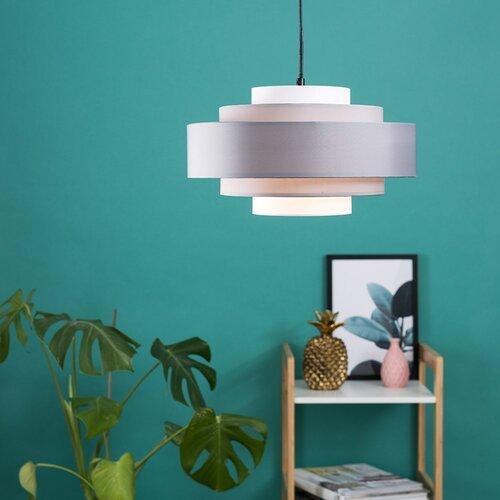 35 cm Lampenschirm aus Stoff Zipcode Design Farbe: Grau| Leuchtmittel im Lieferumfang enthalten: Ja | Lampen > Lampenschirme und Füsse > Lampenschirme | Zipcode Design