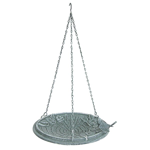 Motif Hanging Birdbath by Innova Hearth and Home