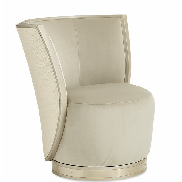 Swivel Barrel Chair by Caracole Classic
