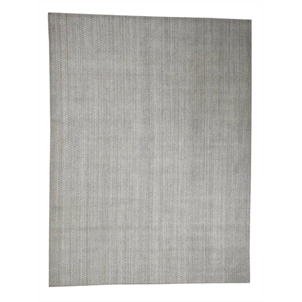One-of-a-Kind Caramont Oriental Hand-Knotted Gray Area Rug by Ophelia & Co.