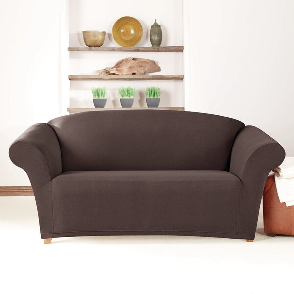 Box Cushion Loveseat Slipcover By Sure Fit Bargain