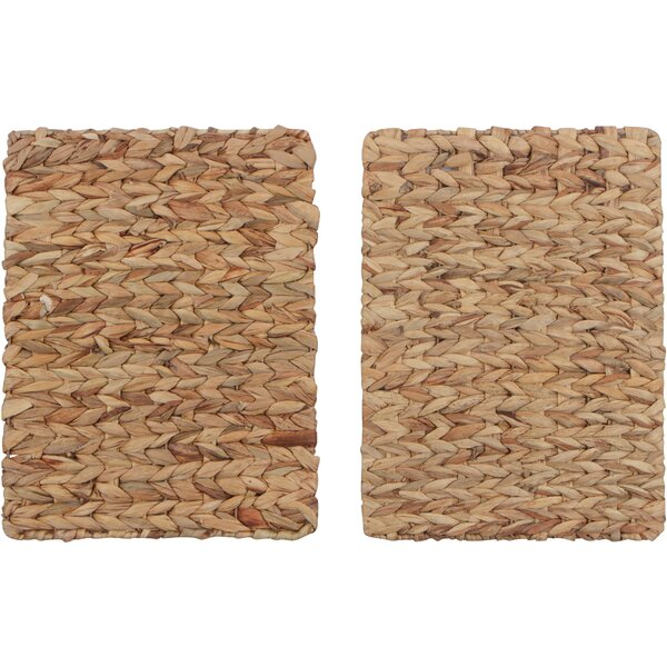 Valleystone Rectangular Woven 16 Placemat (Set of 2) by Gracie Oaks
