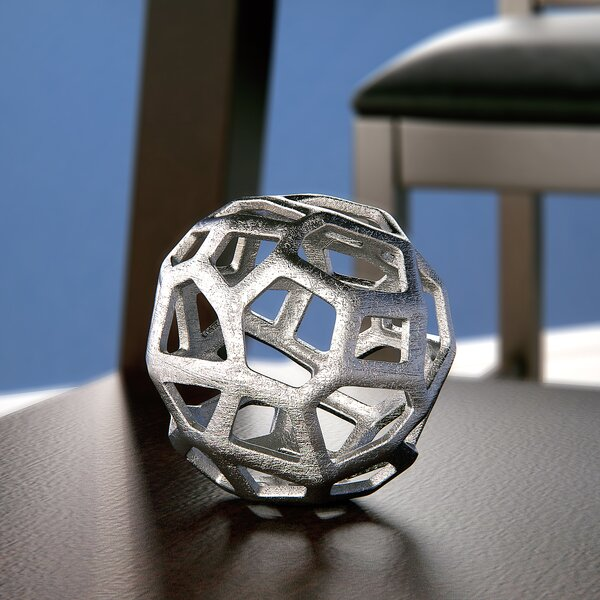 Decorative Ball (Set of 2) by Latitude Run