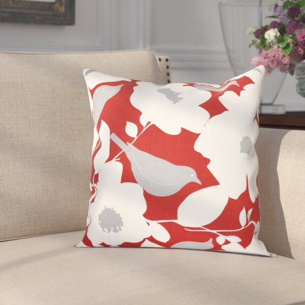 Franca Modfloral Floral Print Throw Pillow by Darby Home Co