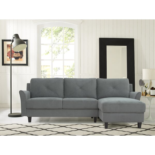 Angilia Right Hand Facing Sectional By Ebern Designs