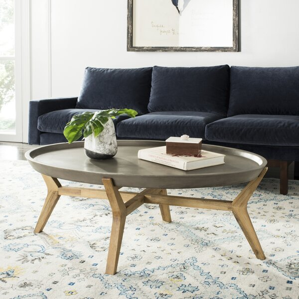 Brodick Coffee Table with Tray Top by Trent Austin Design
