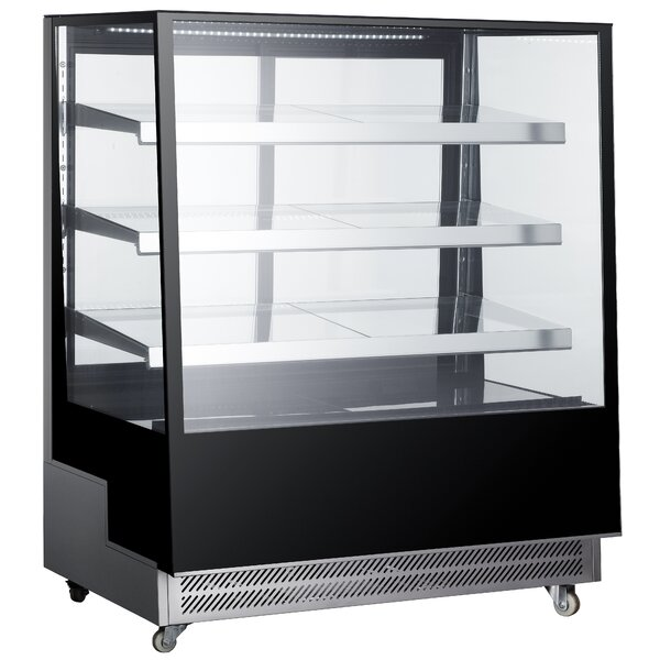 Commercial Standing Wheeled Display Cooler 17.6 cu. ft. All-Refrigerator by EQ Kitchen Line