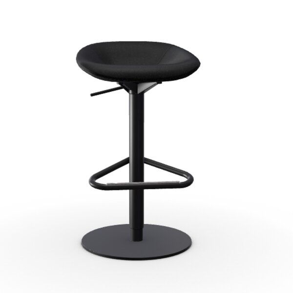 Palm Adjustable Height Swivel Bar Stool by Calligaris Calligaris