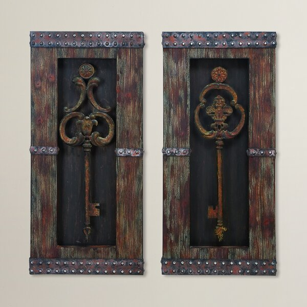 Siddiqui Wall Décor Set (Set of 2) by World Menagerie