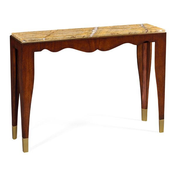 Jonathan Charles Fine Furniture Marble Console Tables