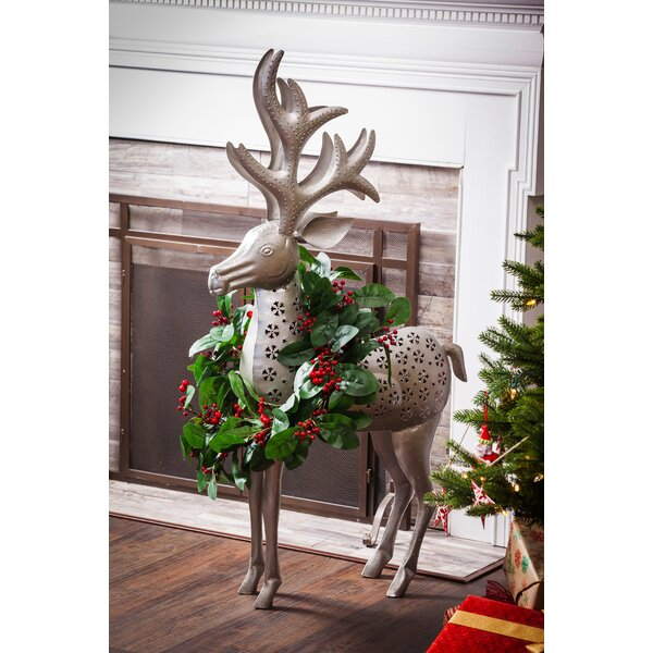 Reindeer Outdoor Decor by The Holiday Aisle