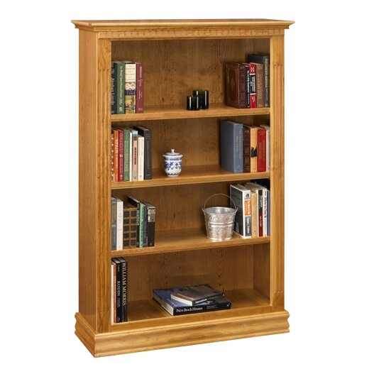 Monticello Standard Bookcase by A&E Wood Designs