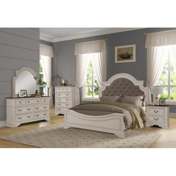 Lilia Standard 5 Piece Bedroom Set by One Allium Way