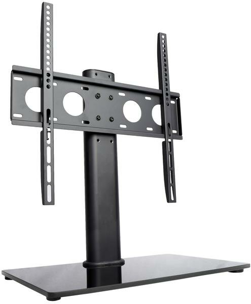 Universal Economic TV Table Top Stand with Glass Base Desktop Mount for 47- 50 Flat Panel Screens by Vivo