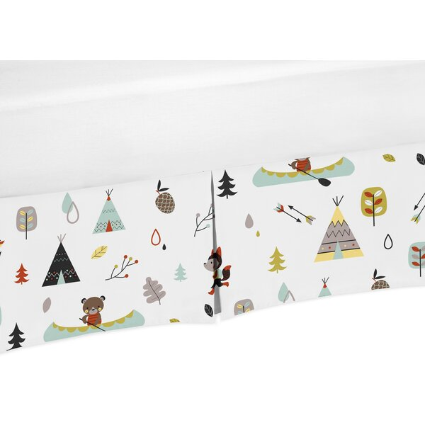 Outdoor Adventure Crib Skirt by Sweet Jojo Designs